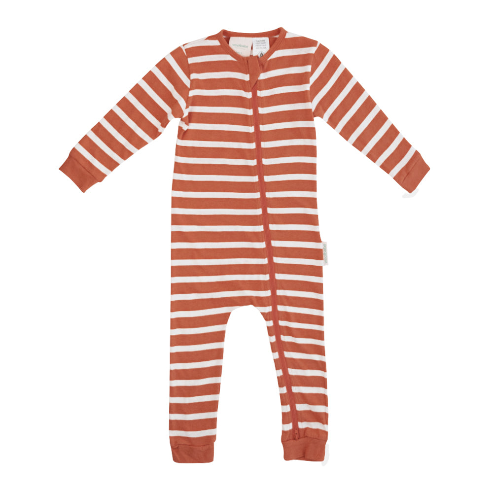PJ Suit | Merino & Organic Cotton - Lava