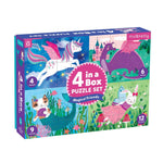 4 In A Box Puzzle Set - Magical Friends