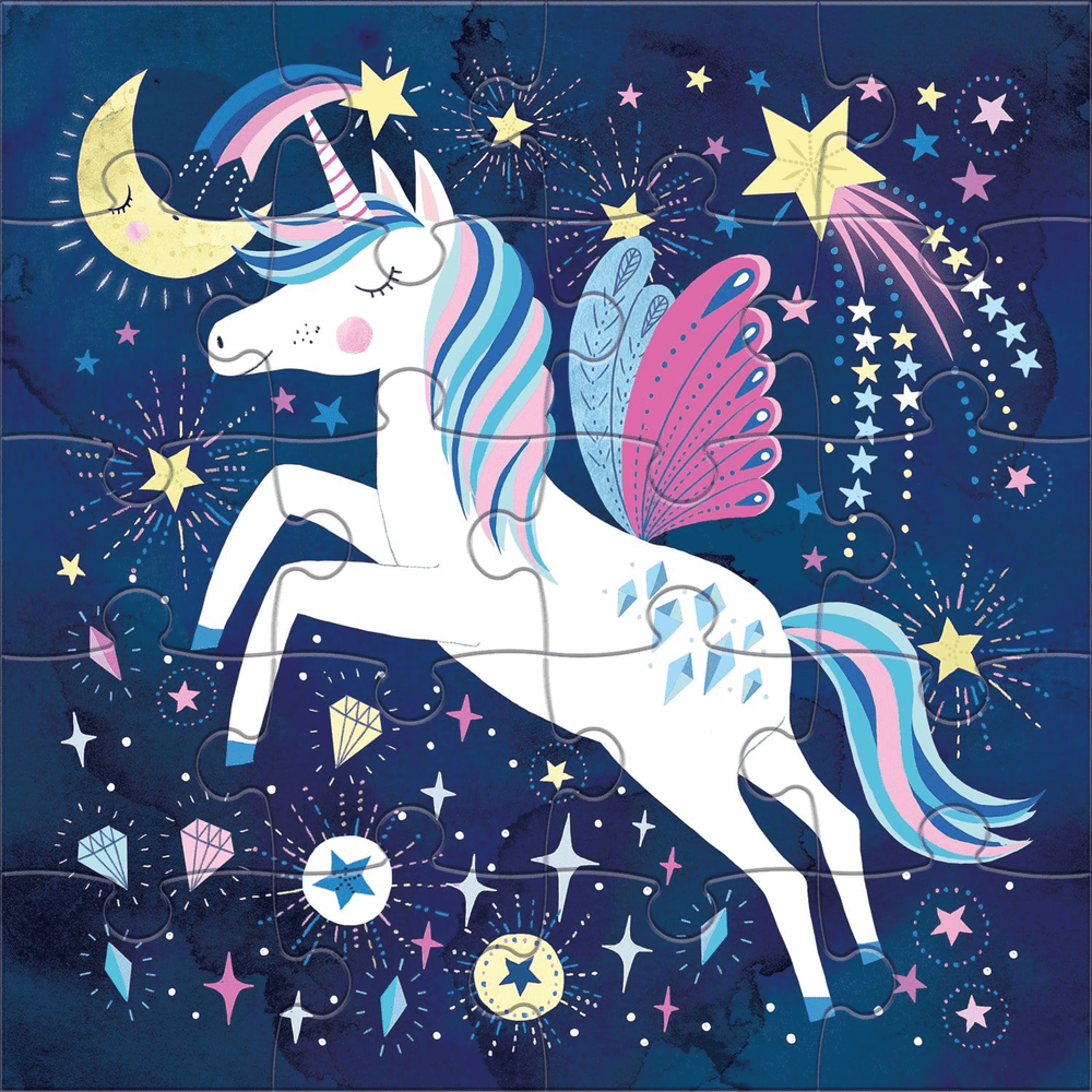 Magnetic Puzzle - Magical Unicorn