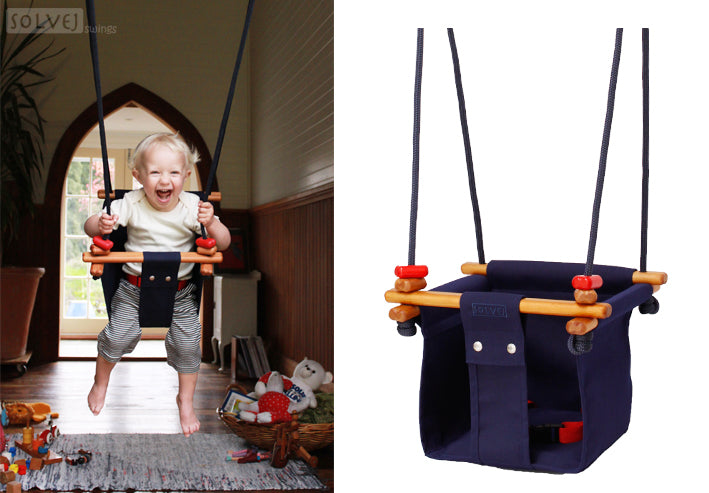 Baby & Toddler Swing | Midnight Blue