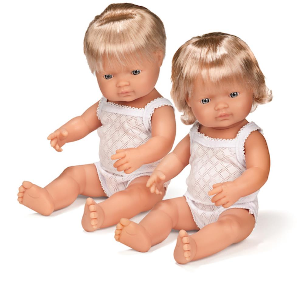 Anatomically Correct Baby Doll | 38cm - Caucasian Boy