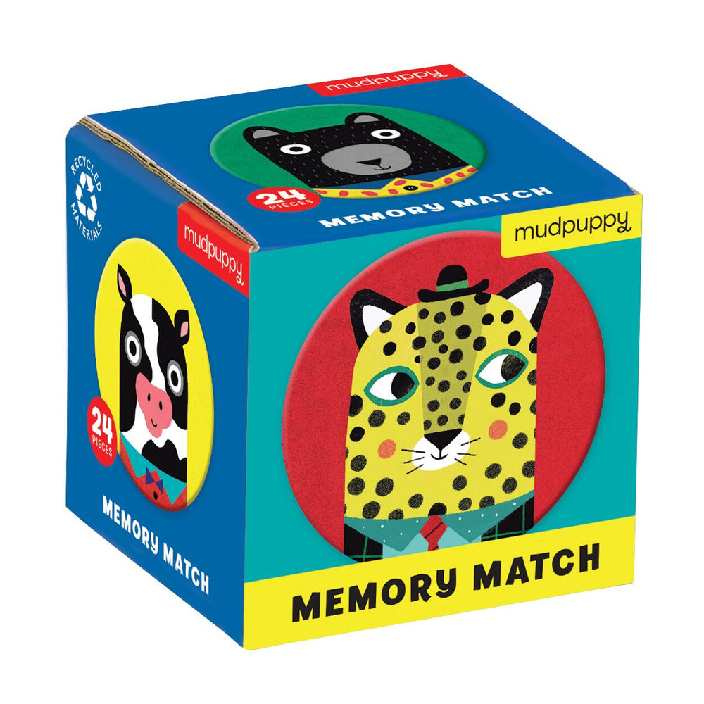 Mini Memory Match Game - Animal Friends