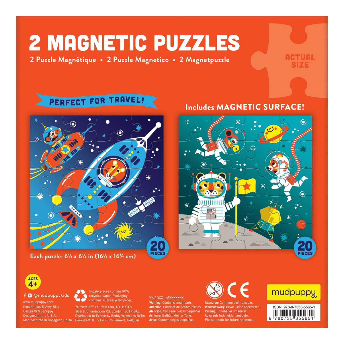 Magnetic Puzzle | 2-in-1 - Space Adventure