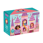 Glitter Puzzle 100pc - Princess