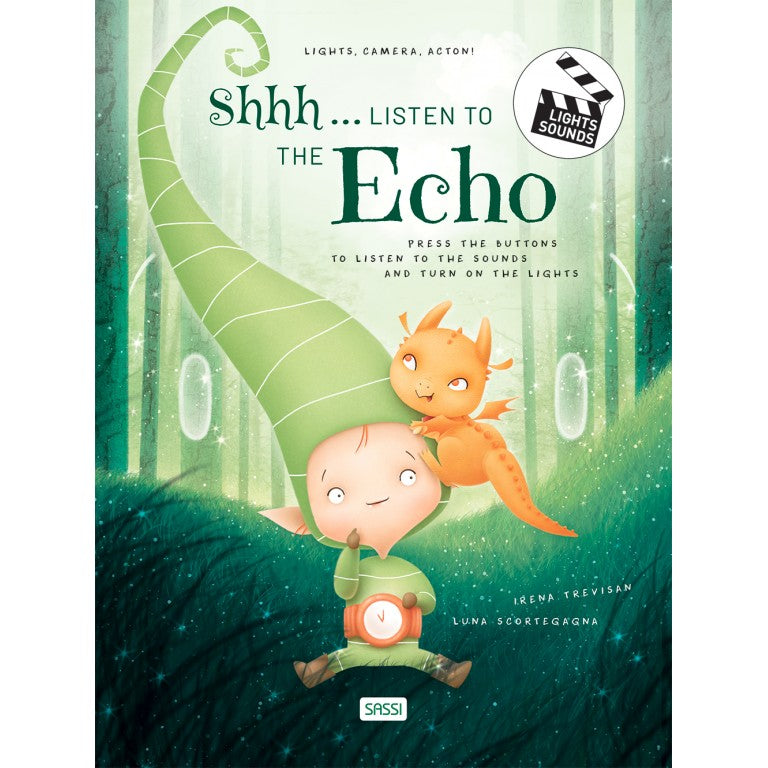 Shhh... Listen to the Echo - Sound & Light Book