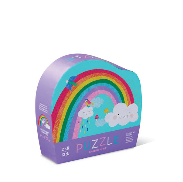 Mini Shaped Puzzle 12pc - Rainbow Dream