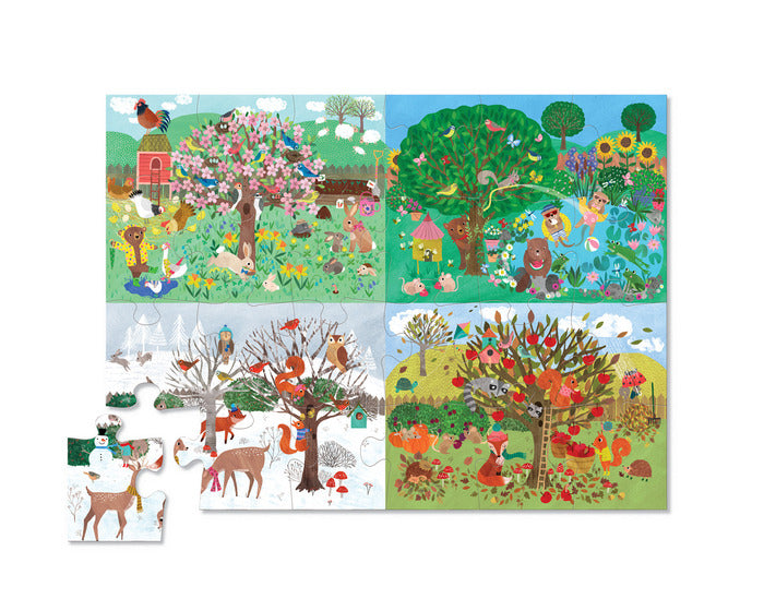 Early Learning Floor Puzzle - Four Seasons