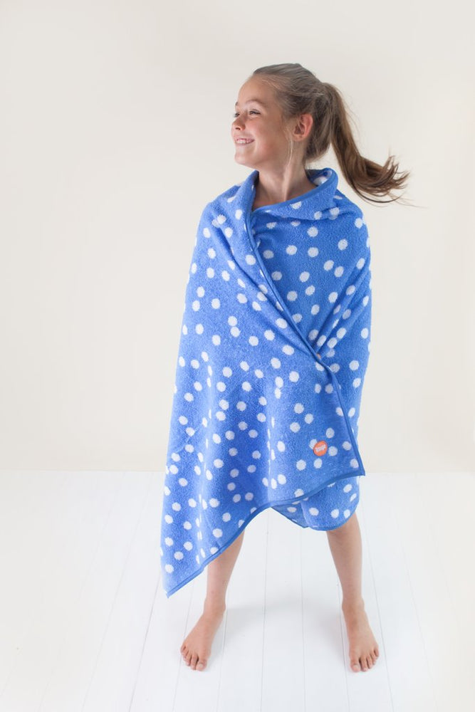 Bath Towel | Blue Dot