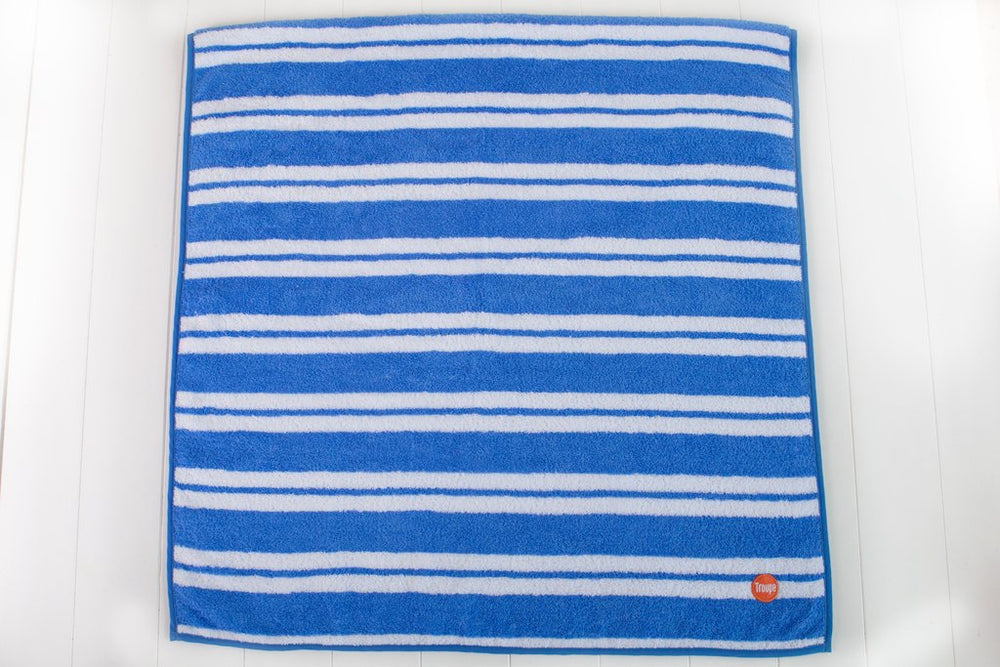 Bath Towel | Blue Stripe