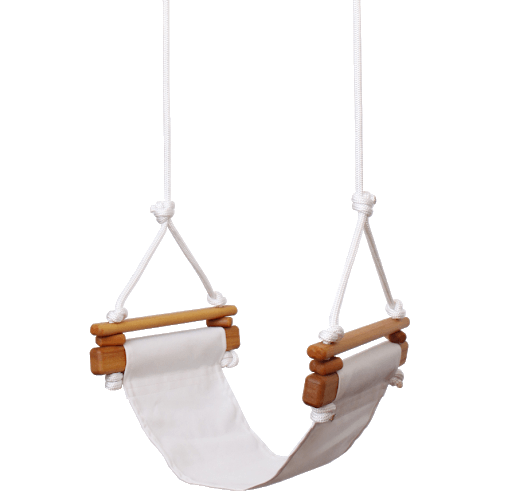 Child Swing | Merino White