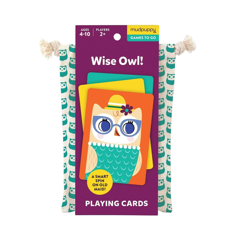 Playing Cards - Wise Owl
