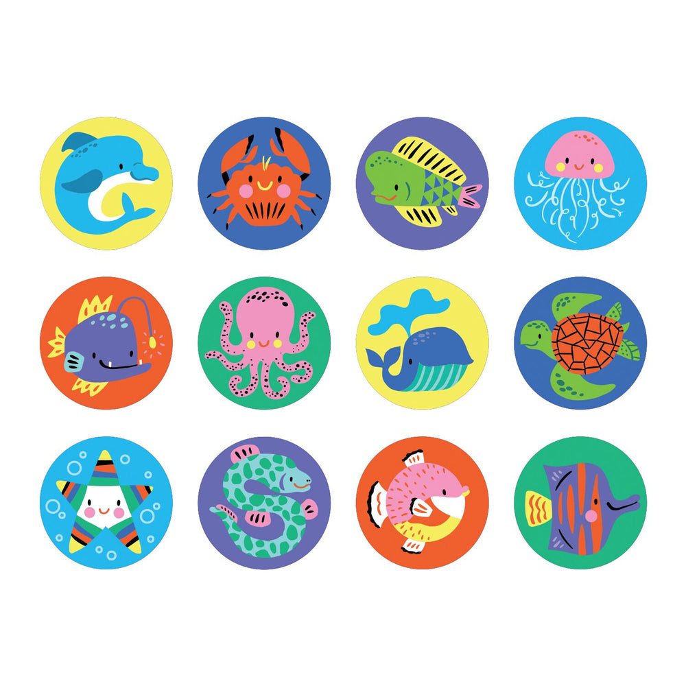 Mini Memory Match Game - Under the Sea