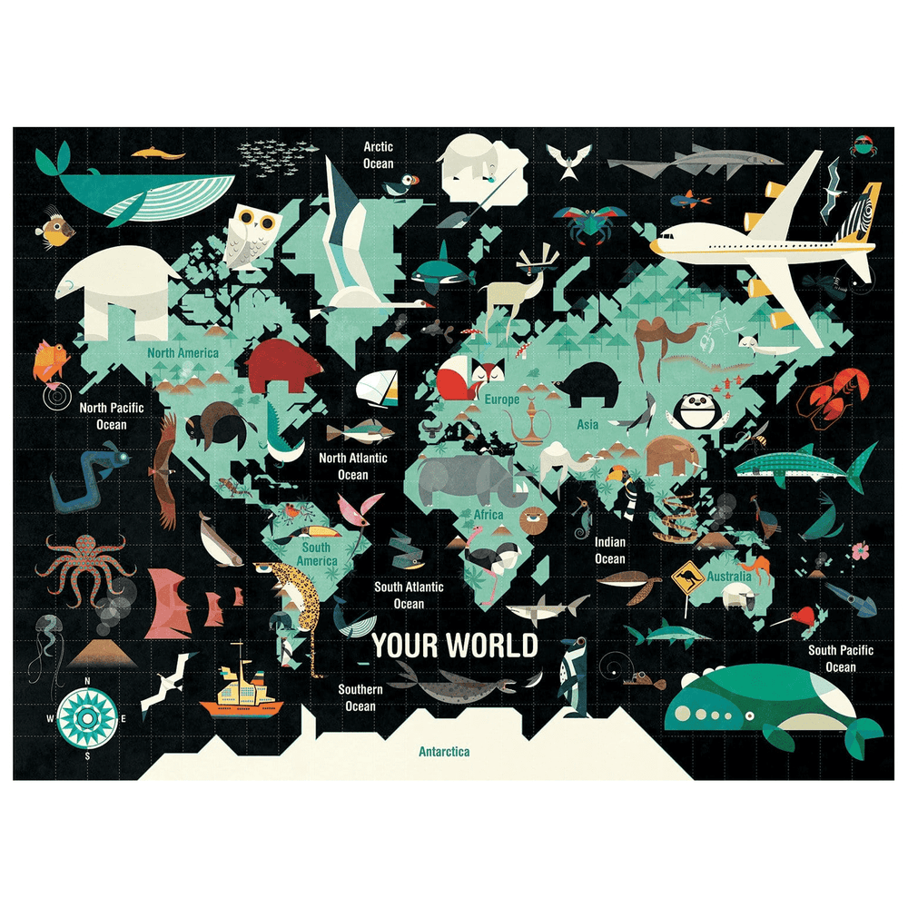 1000 Piece Puzzle - Your World