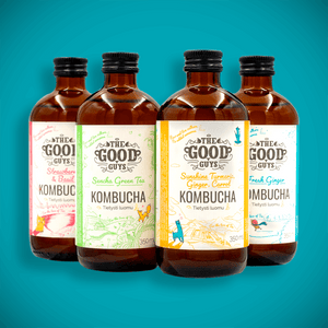 Booch Box - an assortment of different kombucha flavours, 10 x 350ml