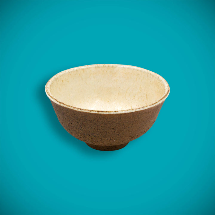 Clay tea bowl