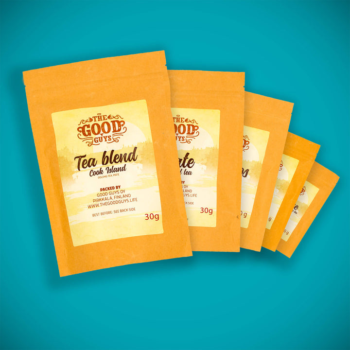 Tea blend sample pack - 5 x 30g