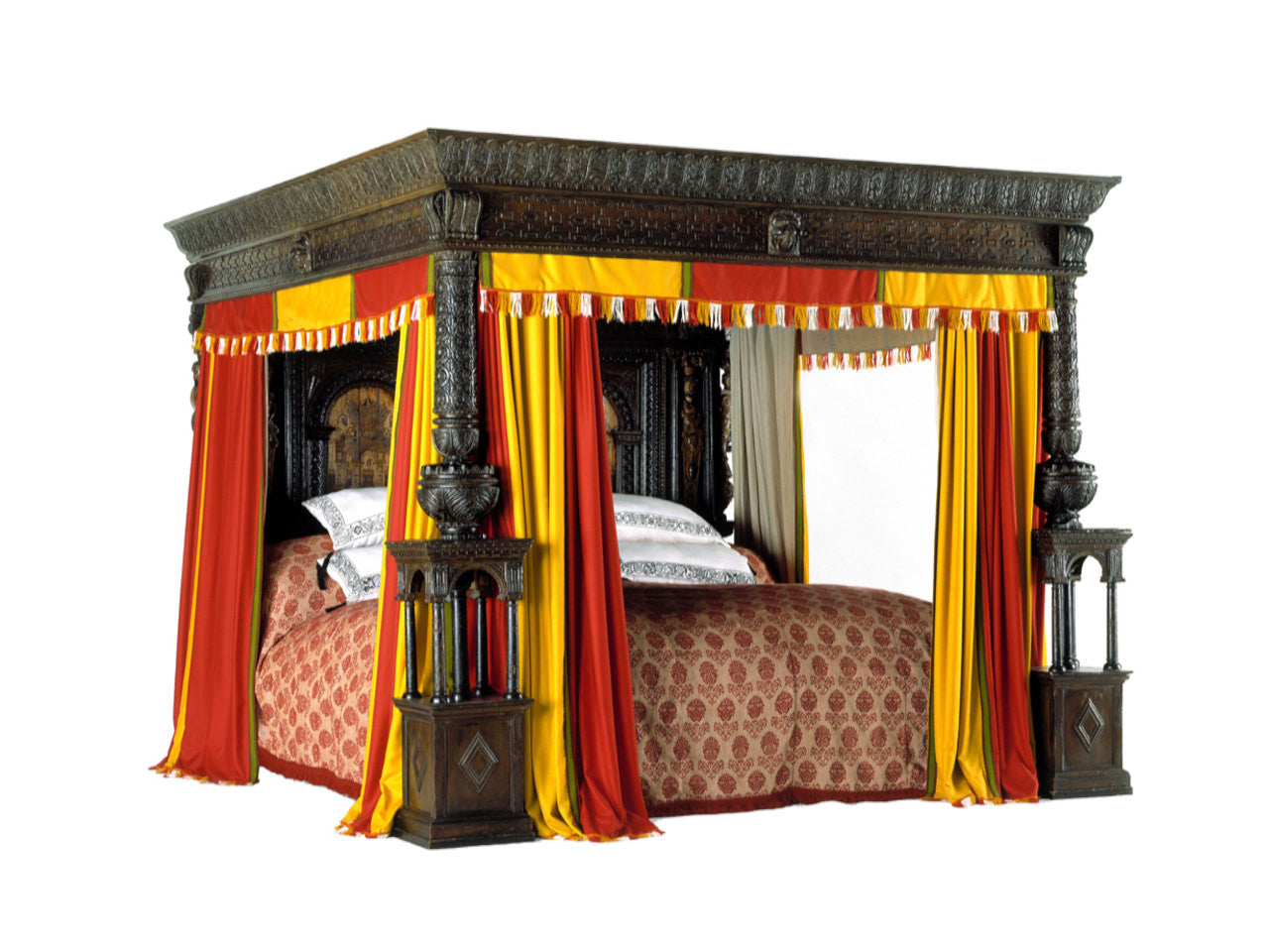 The Great Bed of Ware, circa 1590.