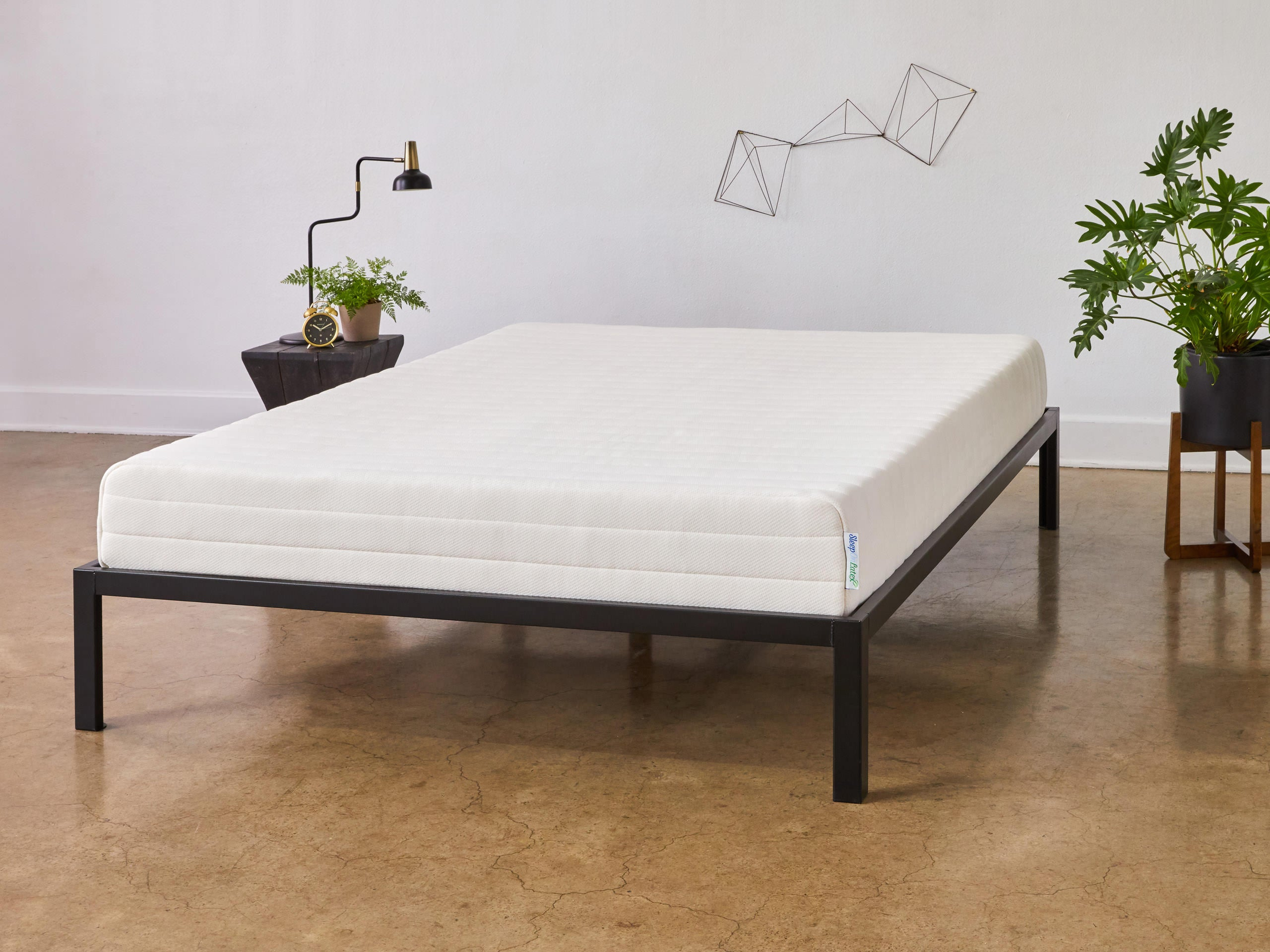 Front View of Mattress