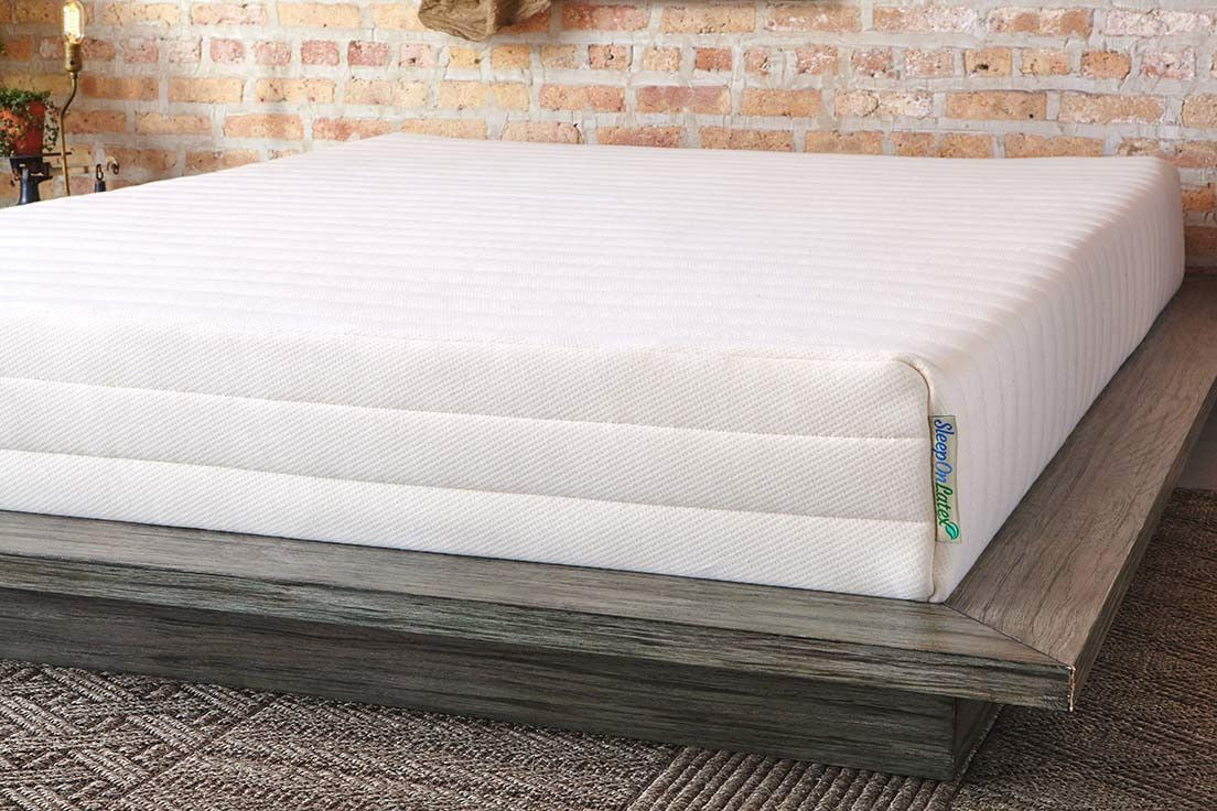 natural f latex pure com talalay topper products sleeponlatex mattress green