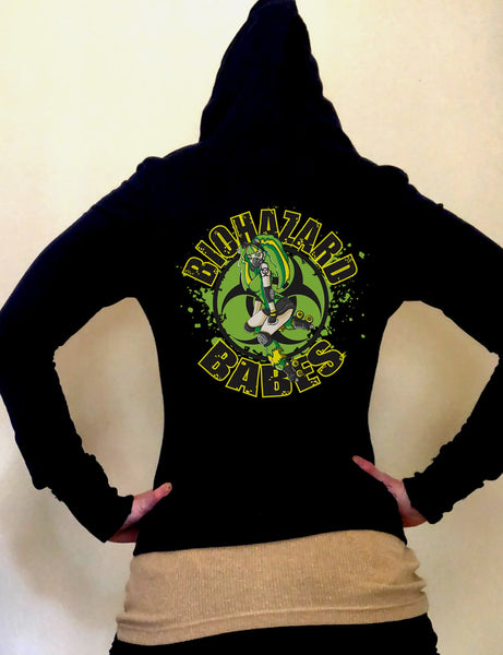 Bio Babes Limited Edition Fitted Light Weight Hoodie