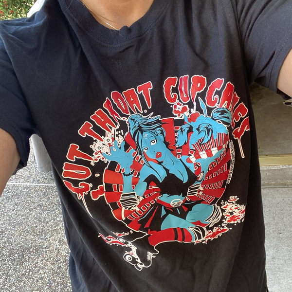 Cutthroat Cupcake T-shirt Unisex