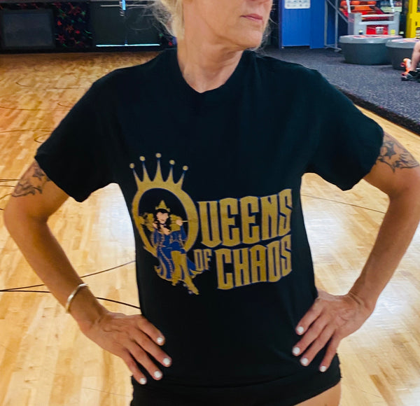 Queens of chaos T shirt unisex