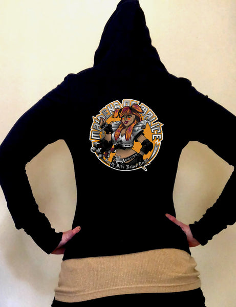 Maidens Limited Edition Fitted Light Weight Hoodie