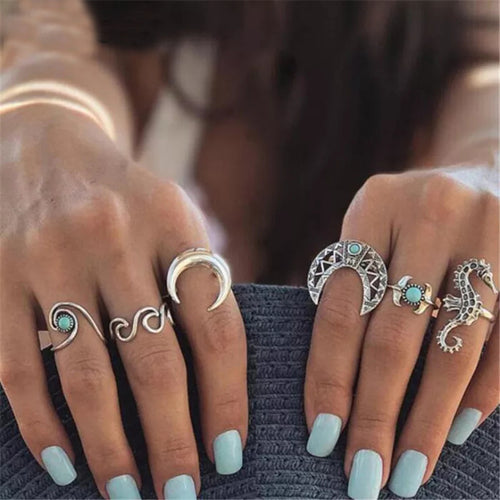 Cabana Rings- Stack of 6
