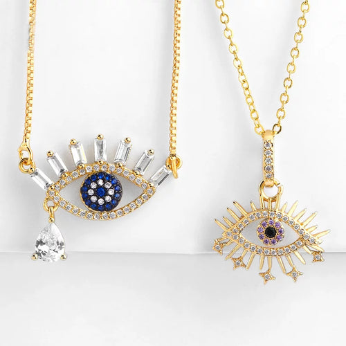 Evil Eye Queen Necklace