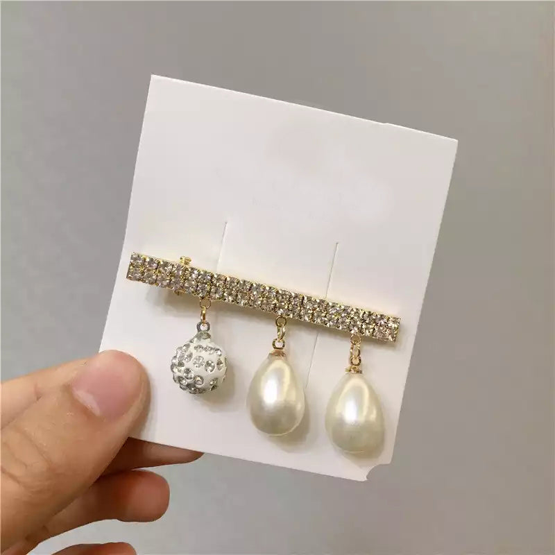 Oyster Pearl Hair Barrette