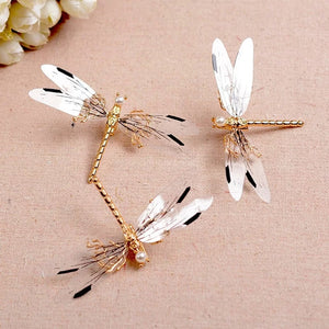 Dragonfly Hair Barrette