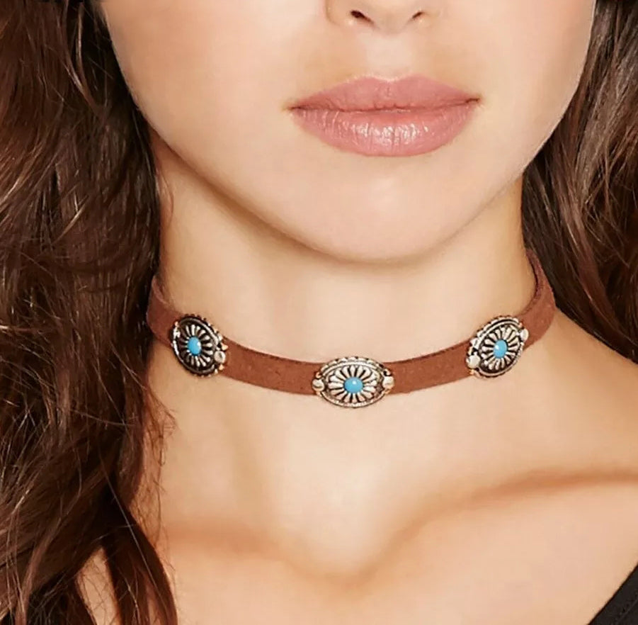 Cowboy Choker Necklace