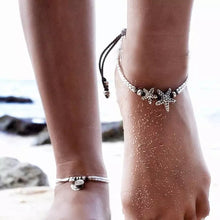 Load image into Gallery viewer, Starfish Anklet