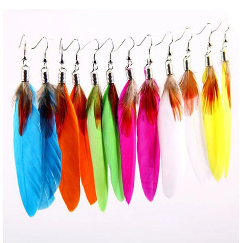 Magic feather Earrings