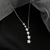 Aster Necklace- 925 Silver