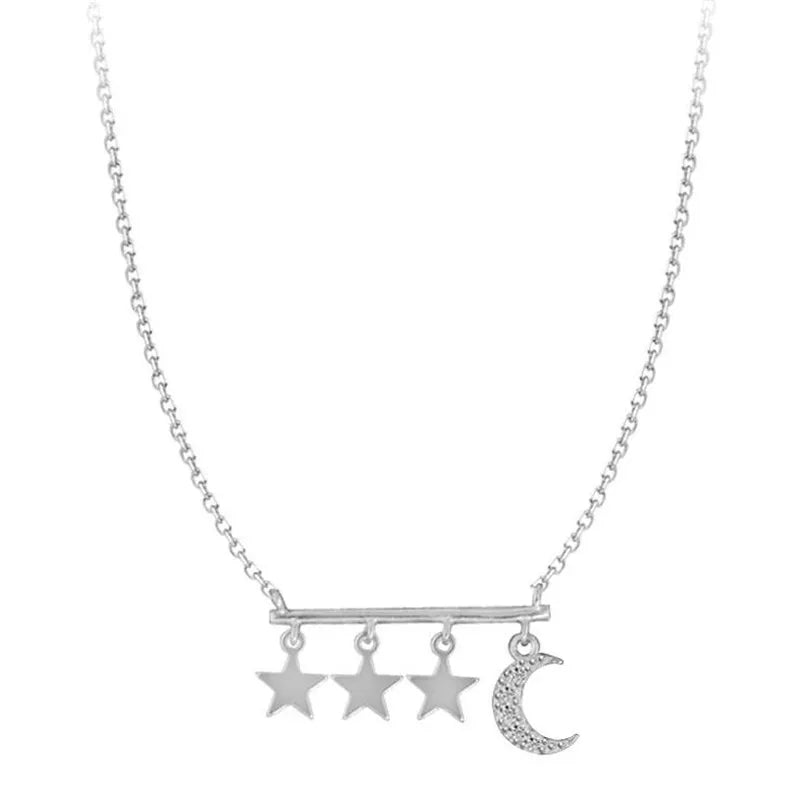 Starbound Necklace- 925 Silver