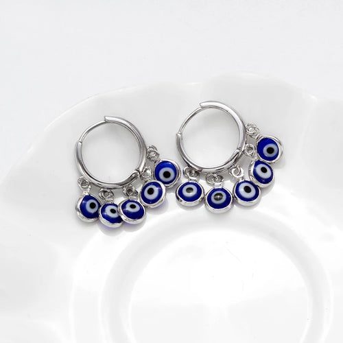 Evil Eye Privy Earrings