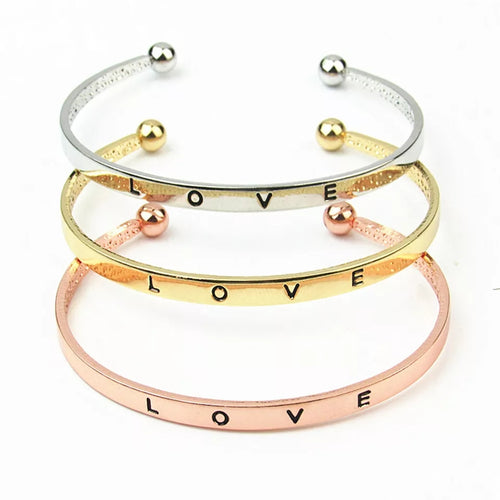 Love Cuff- Rose Gold