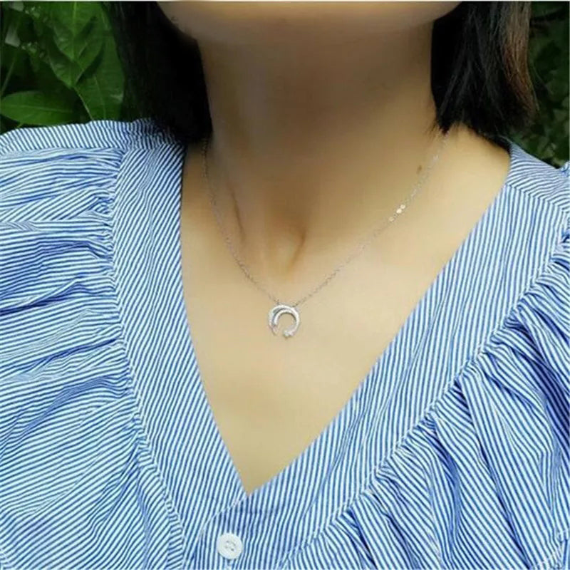 Swish Necklace- 925 Silver