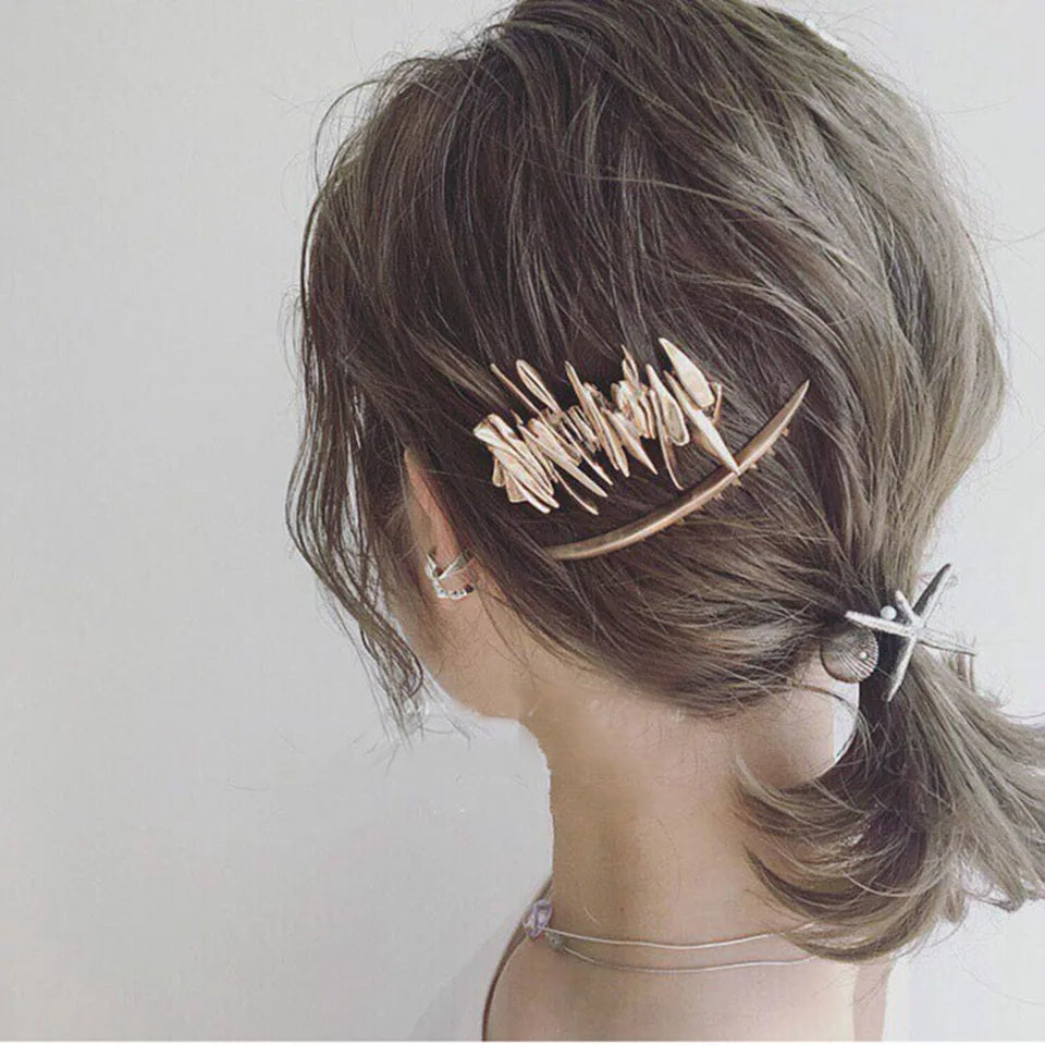 Eclectic Hair Barrette