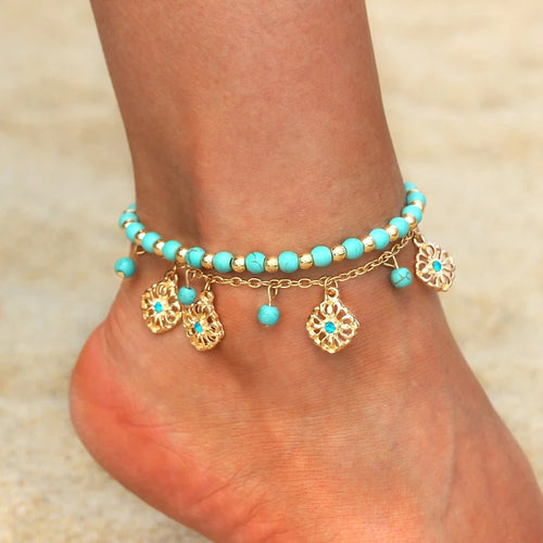 Bohemia Anklet- Set of 2