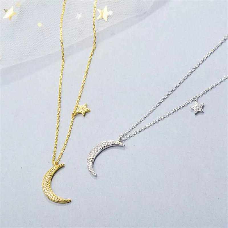 Moonlight Necklace- 925 Silver