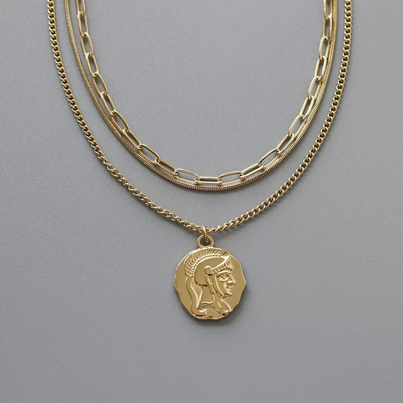 18K Gold Plated- Julia Necklace
