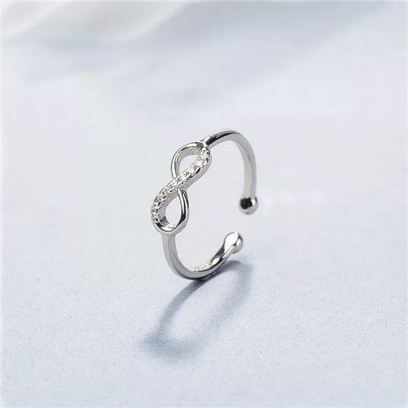 Infinity Ring- 925 Silver