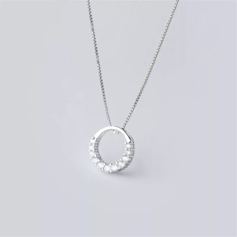 Siri Necklace- 925 Silver