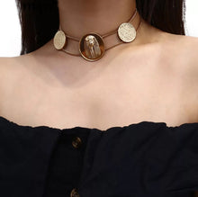Load image into Gallery viewer, Egyptian Choker Necklace