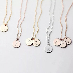 Alphabet Necklace- Rose Gold