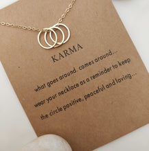 Load image into Gallery viewer, Karma Necklace