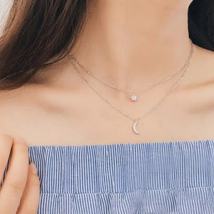 Twinkle Necklace (925 Sterling Silver)