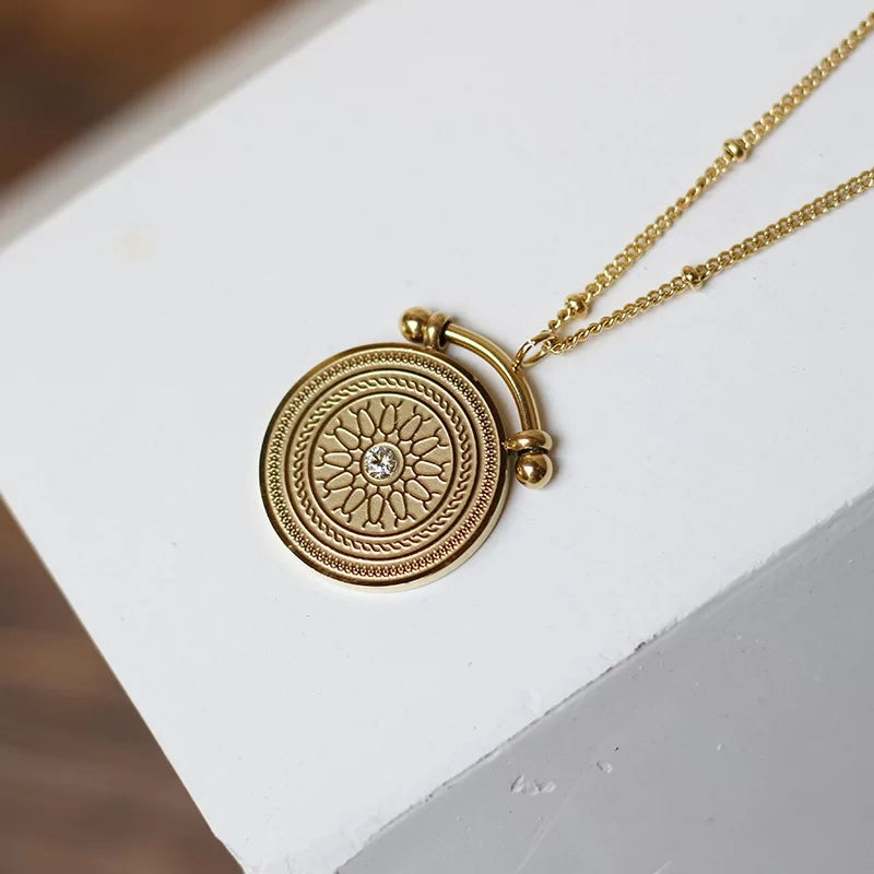 18K Gold Plated- Cairo Necklace